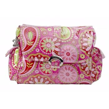 Kalencom Cotton Candy Paisley Pink Buckle Diaper Bag