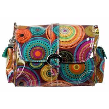 Kalencom Laminated Tequila Buckle Diaper Bag