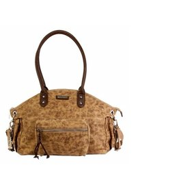 Kalencom Distressed New York Diaper Bag