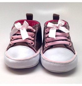 K & K Interiors, Inc. Brown and Pink Sneaker