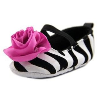 Laura Ashley Zebra Ballet Slipper