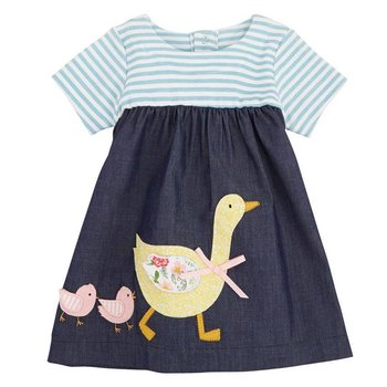 Mud Pie Goose Chambray Dress