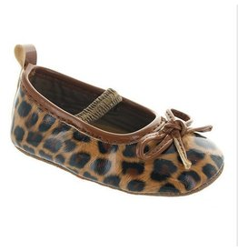 Laura Ashley Leopard Ballet Slipper