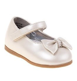 JoSmo Pearl Patent Leather Mary Jane