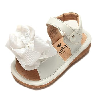 Mooshu Trainers Ready Set Bow Sandal Girls Toddler Squeaky Shoes