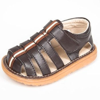 Mooshu Trainers Brown Fisherman Squeaker Sandals