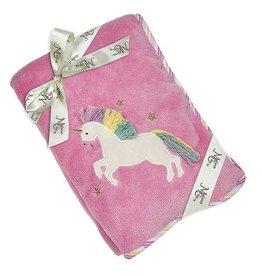 Maison Chic Trixie The Unicorn Plush Blanket