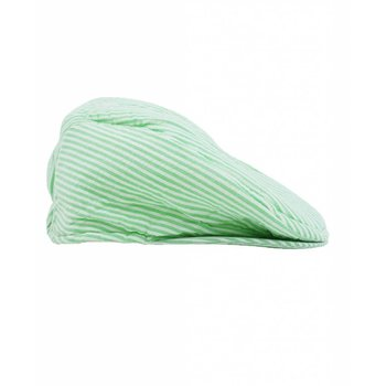 Rugged Butts Green Seersucker Drivers Cap