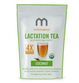 Milkmakers Lactation Tea Coconut (14 Tea Bags Per Can)