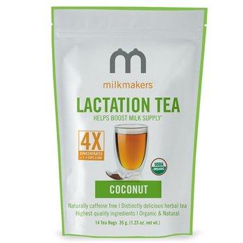 Milkmakers Lactation Tea Coconut (14 Tea Bags Per Can)