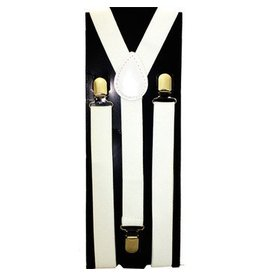 White Boys Suspenders