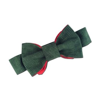 Juxby Red/Green Bow Tie