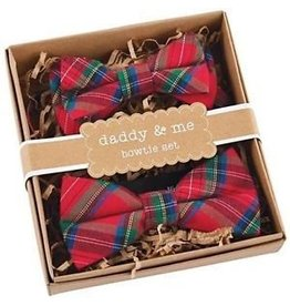Mud Pie Daddy & Me Bowtie Set