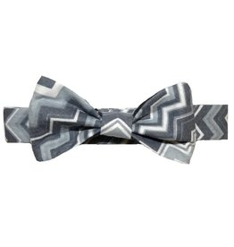 Lil Gents Reversible Chevron Bowtie