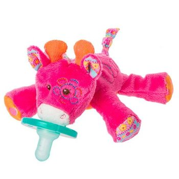Mary Meyer Hot Pink Giraffe Wubbanub