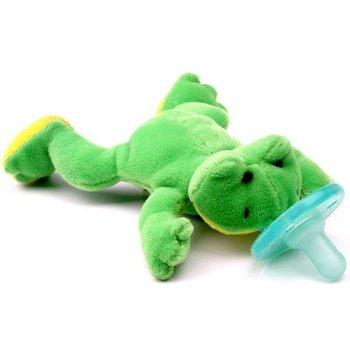 WubbaNub Green Frog Wubbanub