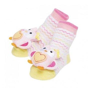 C.R. Gibson Owl Rattle Socks