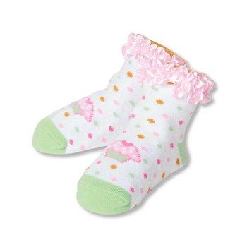 C.R. Gibson Cupcake Socks