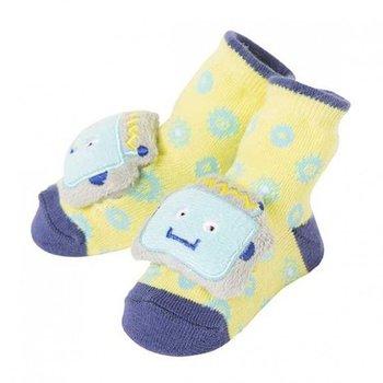C.R. Gibson Robot Rattle Socks