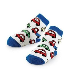 Mud Pie Blue Car Socks