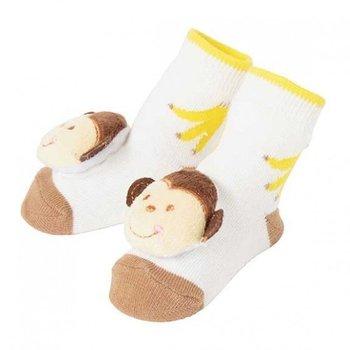C.R. Gibson Monkey Rattle Socks