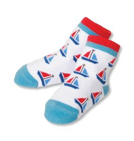 C.R. Gibson Sailboats Socks