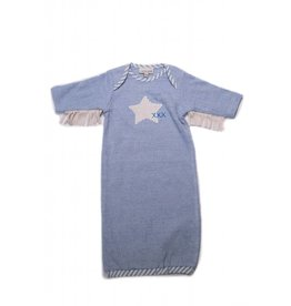 CachCach Blue Star With Fringe Gown