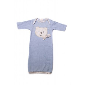 CachCach Blue Teddy Bear Gown