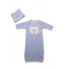 CachCach Blue Teddy Bear Ear Cap