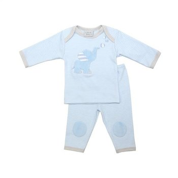 Haute Baby Little Boy Blue Legging Set