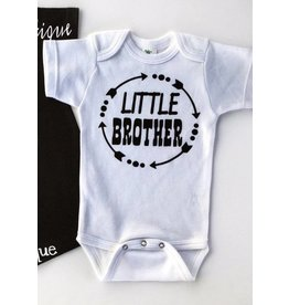 Jujubee Bowtique Little Brother Circle Onesie