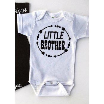 Little Brother Circle Onesie