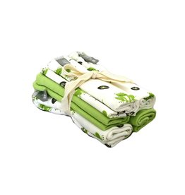KYTE Grass Pond Washcloths