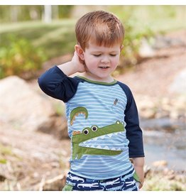 Mud Pie Gator Rash Guard