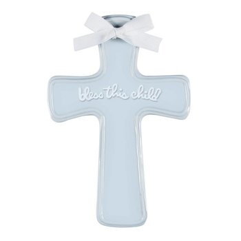 C.R. Gibson Blue Nursery Cross