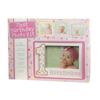 C.R. Gibson Birthday Photo Kit-Girl