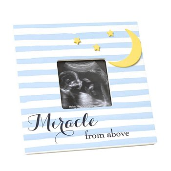 C.R. Gibson Blue Miracle From Above Sonogram Frame