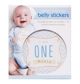 Baby Boy's First Year Belly Stickers Boy