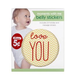 C.R. Gibson Moments With Me Belly Stickers