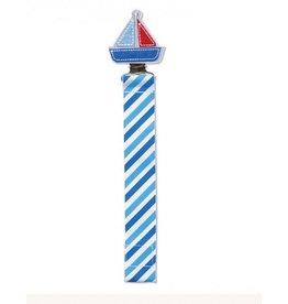 C.R. Gibson Sail Boat Paci Clip