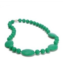 Green Chewbeads Necklace (Plates & Circles)