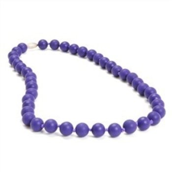 Chewbeads Purple Chewbeads Necklace