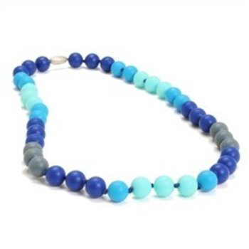 Chewbeads Blue Turquoise Navy Chewbeads Necklace