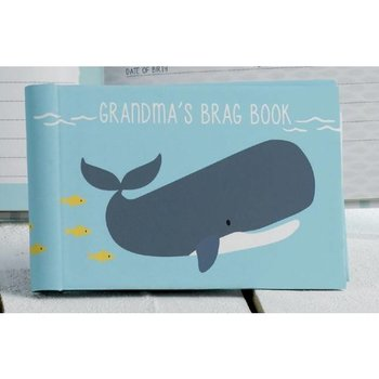 C.R. Gibson Grandmas Brag Book Whale Tales