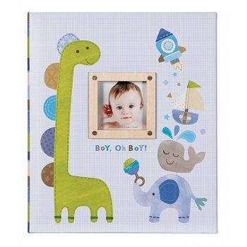 """C.R. Gibson Carter Memory Book """"Oh, Boy"""""""