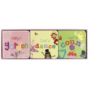 C.R. Gibson Garden, Lets Dance, & Lets Count Chunky Book Set