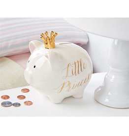 Mud Pie Little Princess Ceramic Piggy Bank