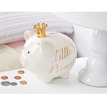 Mud Pie Little Princess Ceramic Piggy Bank