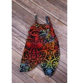 Bela & Nuni Rainbow Mandala Bell Jumpsuit