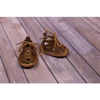 Laura Ashley Brown Smooth Aruba Sandal